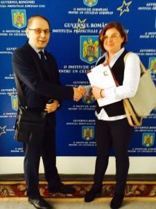 IH en Rumanía