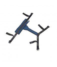 Cinturón pélvico para silla de ruedas