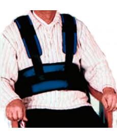 Cinturón torácico para silla de ruedas