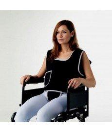 Chaleco perineal para silla de ruedas