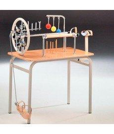 Mesa para ejercicios de manos con pedal