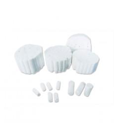 Rollos de algodón dentales