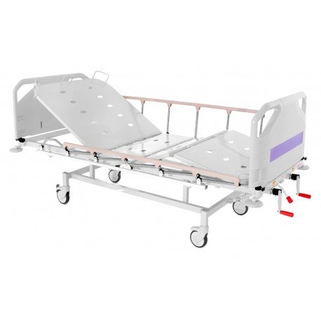 Cama manual de hospital