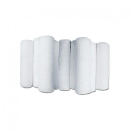 Vendaje de gasa con bordes tejidos