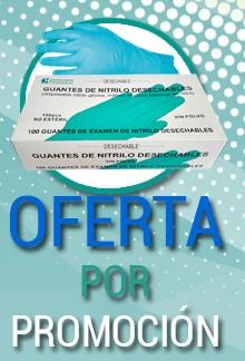 Oferta por lanzamiento de Guantes de Nitrilo
