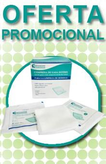 Oferta promocional de Compresa de gasa estéril